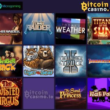 Microgaming Casino Games Now Live on Bitcoincasino.io