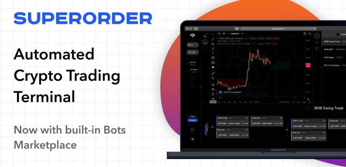 New Crypto Trading Bots Based on Custom Strategies by Superorder