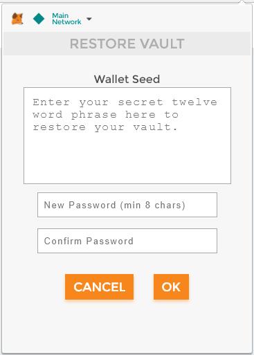 Connecting MyEtherWallet to MetaMask - Bancor