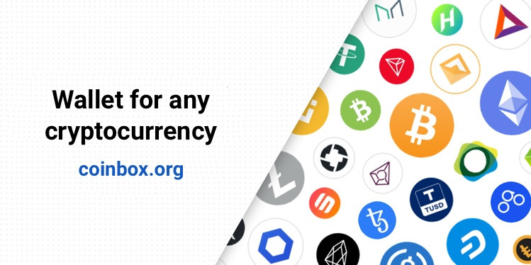 CoinBox Wallet – A Wallet for any cryptocurrency