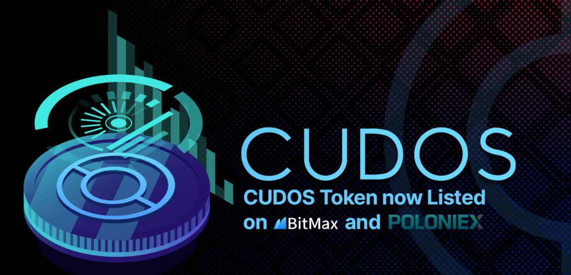 Decentralized Cloud Computing Network, Cudos, Debuts Exclusive Public Token Listing on BitMax