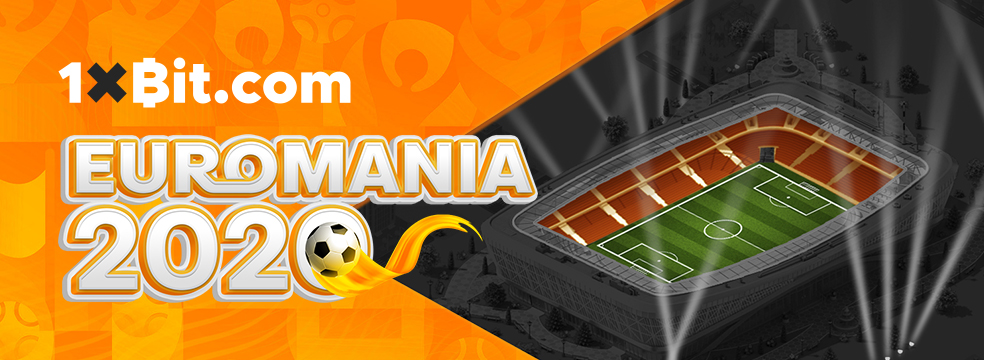 Feel EUROMANIA – the hottest football promotion by 1xBit!